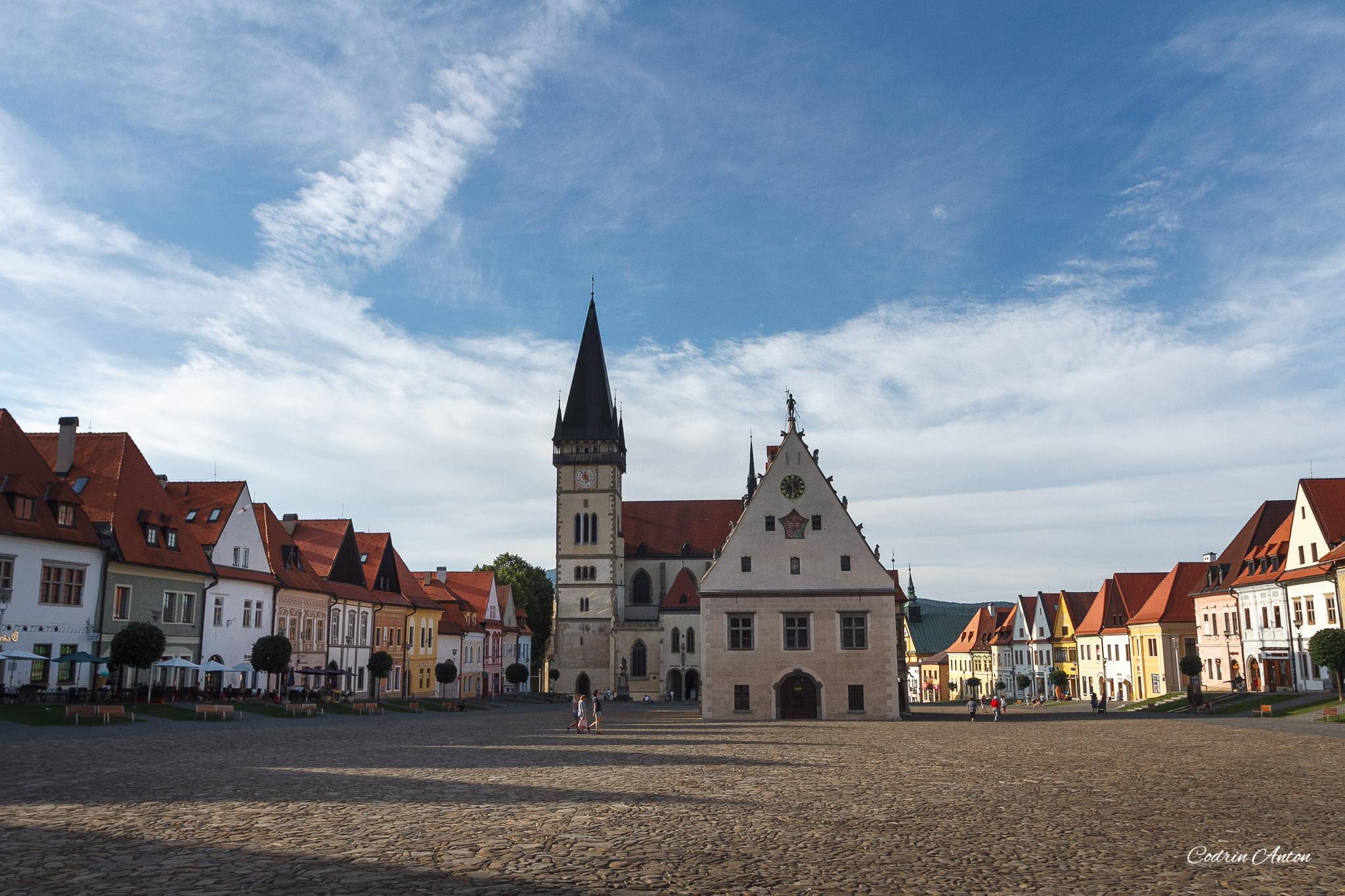 Bardejov, oraşul care ne-a înapoiat milenii